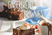 Gingerbread recipes / There's nothing better than a bit of Christmas baking to get you in the festive spirit. Try these fabulous gingerbread recipes from chocolate and gingerbread men to gingerbread fudgy brownies.