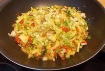 wok groente