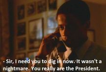 West Wing / Politics and a cup of coffee