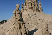 sand castles / by Lisa Wider