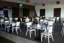 Hotel Golden Tulip Mamaia / Parte din portofoliul Chairry - mobilier alb pentru restaurant