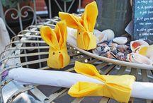 Pasen / Hoe dek jij de tafel? Versier jij elk jaar een paastak? Doe hier je ideeën op voor Pasen!
