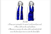 How to tie your Laura Orchant Scarves