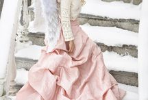 Little Angels by Teija Pekkala / Girls, Angels, Children, dress, beautiful,