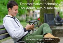 Apps for adults with disability