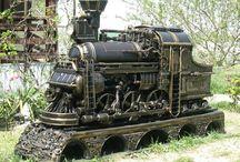 steampuk gril lokomotive