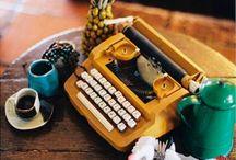 Machines à écrire vintage