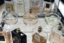 chanel perfumes-- mademoiselle, chance, etc.