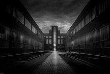 Ruhrpott / Schwarz weiß, Street, Ruhrgebiet, monochrome, Art, Kunst,