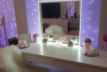 Makeup rooms