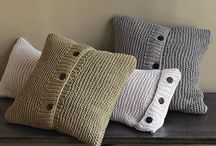 cushions and pillows / by Kim Daisy