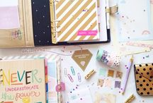 {Planners} Inspirations and DIY / DIY accessories for planners and various models.