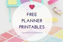 Planner & Journal - Printables & More / This is a board about planners and organizing them.