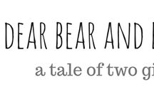 Latest from dear bear and beany blog / All that is happening over on my blog...dear bear and beany