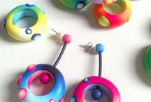 Polymer Clay Jewelry - Earrings / by KatersAcres