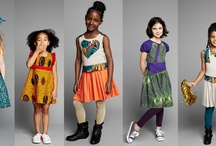 Children Fashion Collection / Lovely children fashion. Let us say, this is our little children's runway. All beautiful!!!