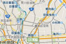 Japan Travel Route / You have to have Travel route mobile.