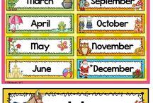 Lembar kerja taman kanak-kanak