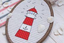 Аппликация и вышивка декоративными швами / Необычное сочетание рукодельных направлений дает ошеломительный эффект!