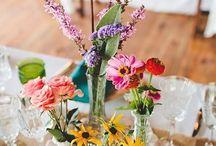 wedding blommor