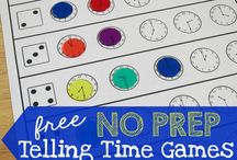 Time Games and Activities