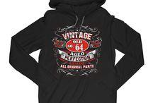 Vintage No.  T-Shirt Hoodie