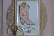 Bootiful Occasions Stampin' Up! Stamp Set Greeting Cards