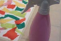 Ailan ohje silkkipaperin maalaamiseen