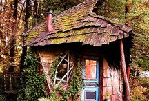 * Witch's Houses / I would love to live in one of these... Or at least to have them as a cottage!