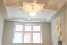 Waffle/Coffered Ceiling Designs