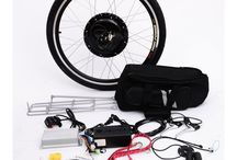 Electric Bike Conversion Kits and DIY Projects / E-Bike Motor Conversion Kits. How to convert your conventional bicycle into the electric bicycle. DIY