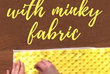 Tips for sewing Minky Fabrics