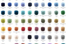 Colour Inspiration / Colour inspirations for my crochet projects and blog design
