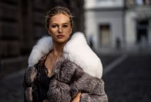 New fur coats collection