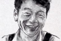 Portrait by pen / Amazing portraits created with a simple pen!!Just a pen!! http://xn--h1adrmu.xn--p1ai/