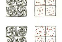 Zentangle instructions