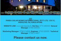 www.pandasolar.lk / Pixel Clear launched the Panda Solar Works (Pvt) Ltd official web site during June, 2016. Panda Solar is a solar power provider in Sri Lanka