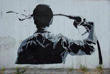 Street art wandering