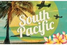 """""""South Pacific"""" - 2015 Season - July 1st - July 26th, 2015 / By Richard Rodgers and Oscar Hammerstein and Josh Logan. Who doesn't love this extraordinary show that includes """"Some Enchanted Evening"""", """"Younger Than Springtime"""", """"Bali Ha'i"""", """"There Is Nothin' Like A Dame"""", and """"A Wonderful Guy""""? But South Pacific is also a deeply felt drama. Its portrayal of Americans stationed in an alien culture in wartime is as relevant today as when it first thrilled audiences in 1949."""