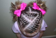 Toddler Hairstyles / Cute hairstyles for toddlers, babies, and little girls.
