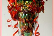 Свит-композиции в вазе
