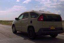 Pontiac Aztek from the Breaking Bad