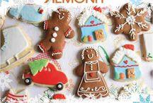 Christmas is in Lemonis bakery / Sweet Christmas, sugar-y Christmas, chocolate Christmas.