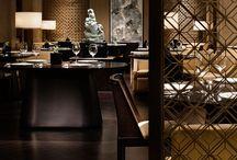 Relaxed mood lighting restaurants