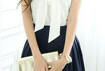 Bow tie inspiration for WOMEN. / Bow tie inspiration for women - all styles!