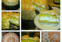 Torta con panna e banane :3