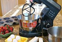 Stand Mixers / I just love having a good quality stand mixer in the kitchen to whip up breads, cakes and more!