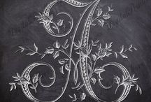 ✿ڿڰۣ(̆̃̃• Our Chalkboard Alphabet & Prints •✿ڿڰۣ(̆̃̃