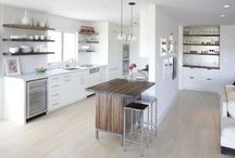 Kitchen - Open Shelving