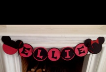 "my crafts for Ellie's ""two""dles party"